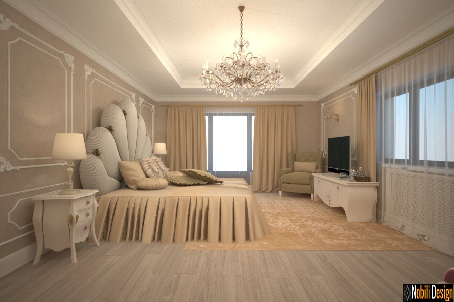 interior design bedroom luxury villa istanbul.