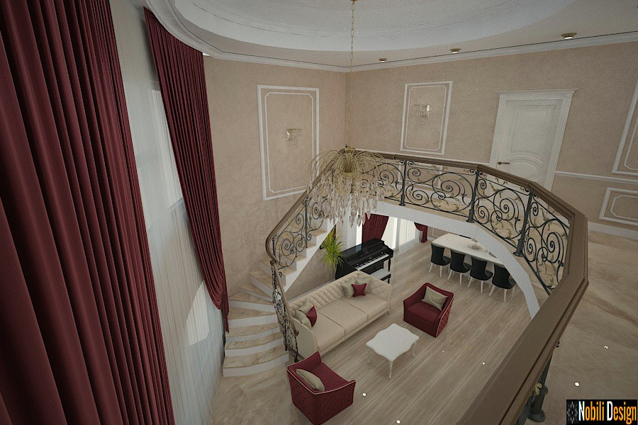 Interior design classic house in Istanbul
