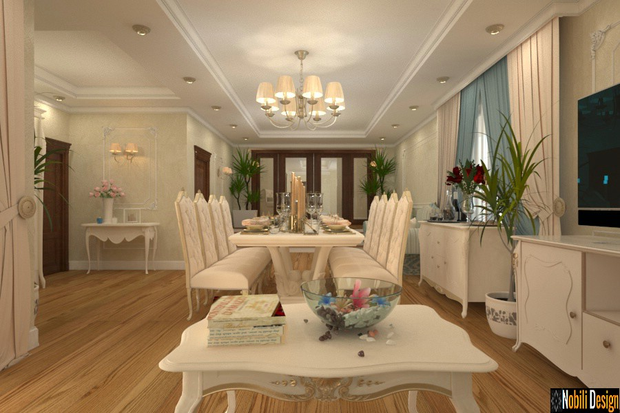 Interior design classic style house Istanbul