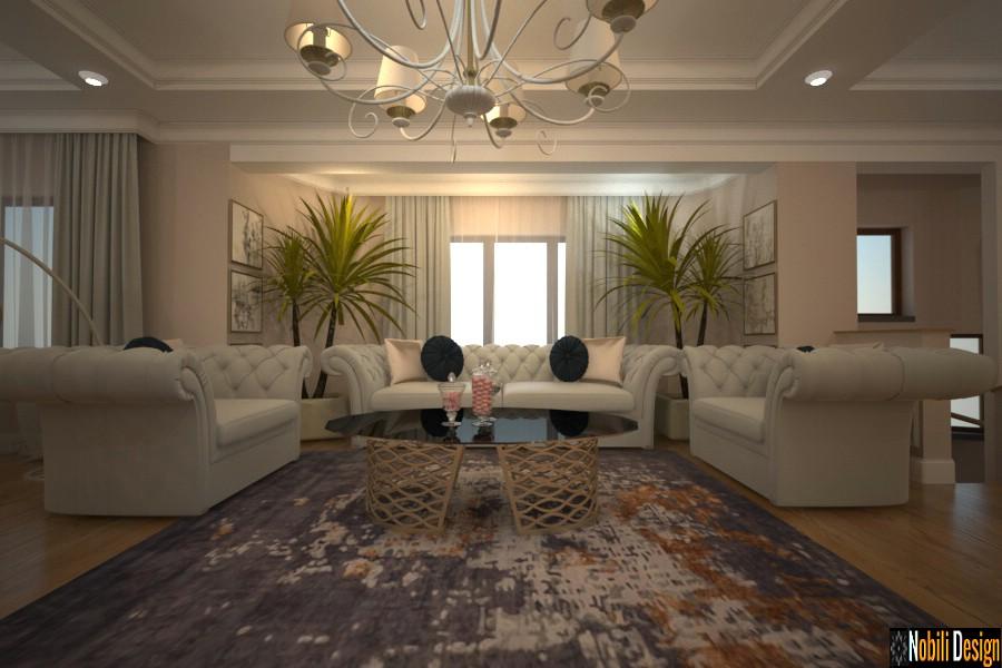 Interior design classic villa Sunflower Istanbul