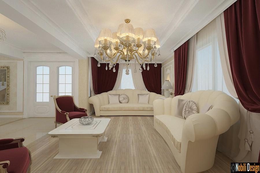 Interior design classic style house in Ankara