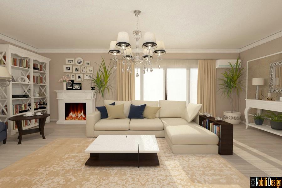 Interior design classic house Istanbul