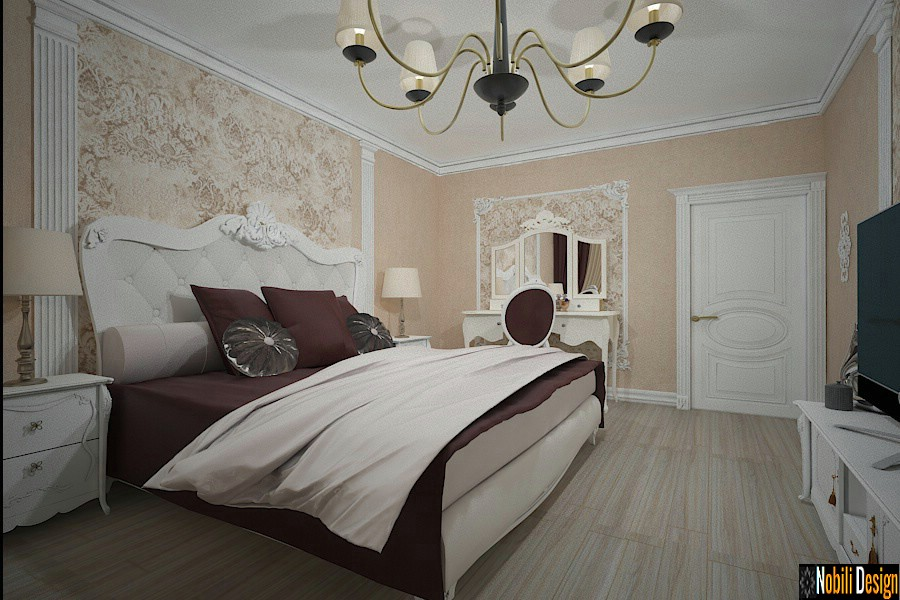 Interior design projects for classic houses in Istanbul