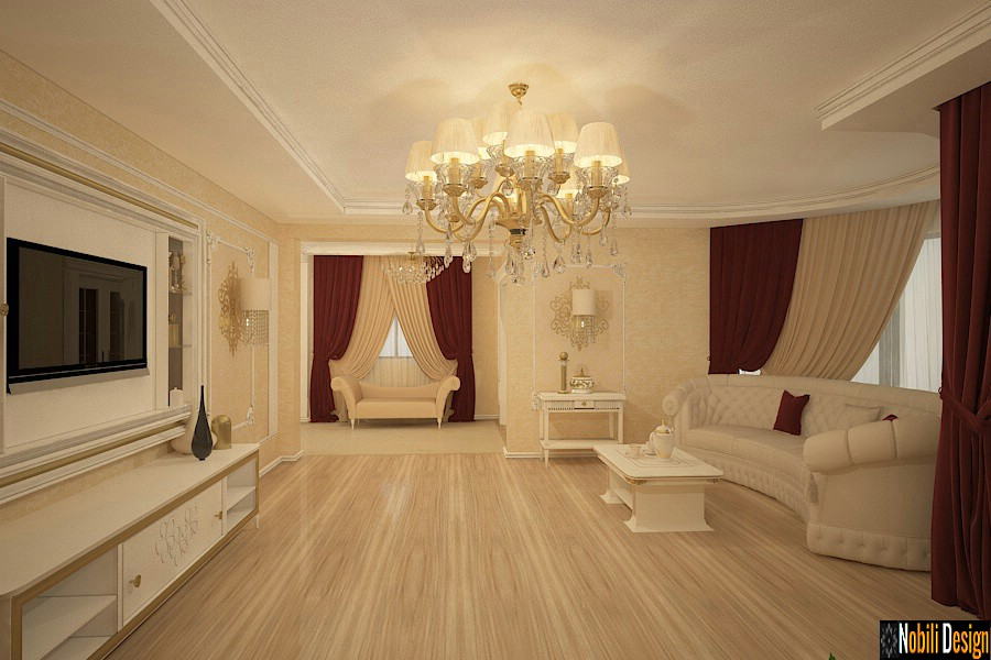 Interior design classical luxury house in Ankara