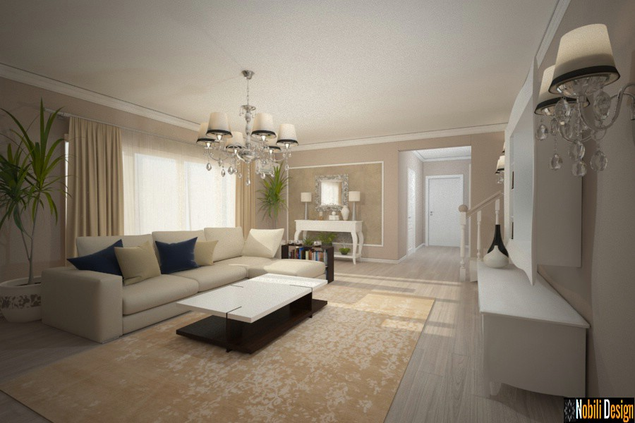 interior design new classic living istanbul