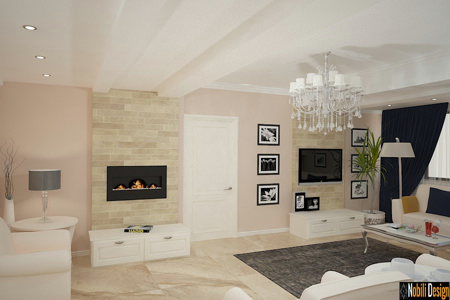 Interior design for modern and classic apartment in Istanbul ...