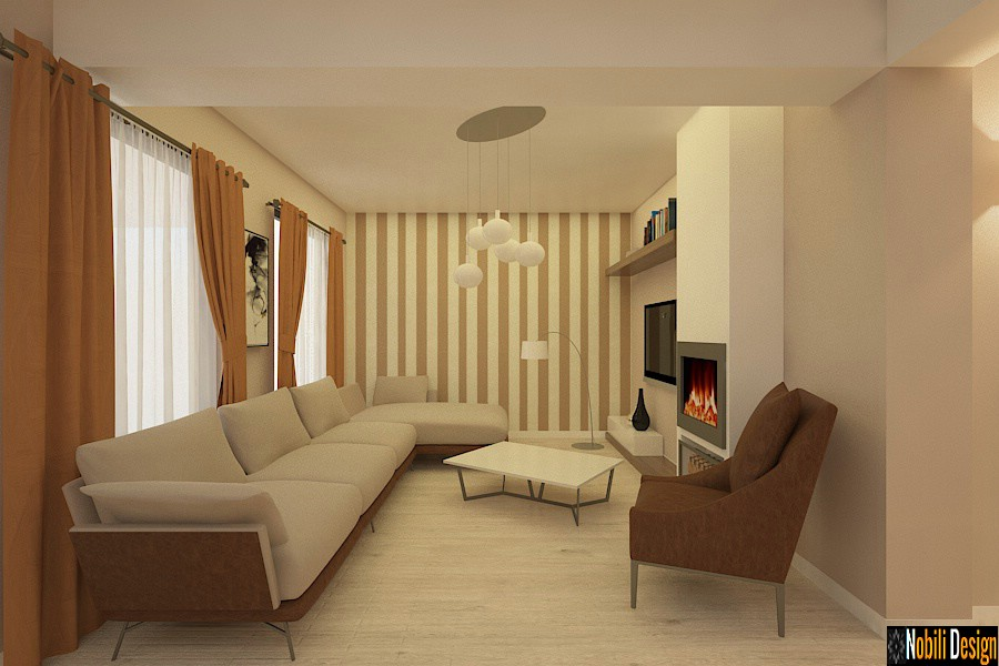 Interior design modern house in istanbul interior design for Case interior design