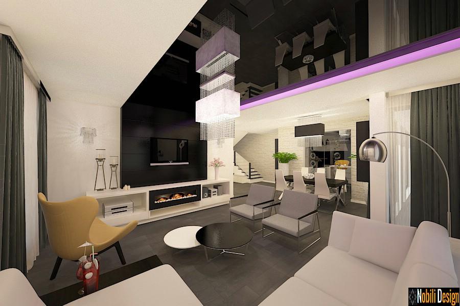 Modern interior design in Istanbul