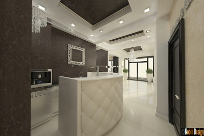 Interior design for beauty salon in Istanbul