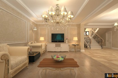 Interior classic design style house in Istanbul