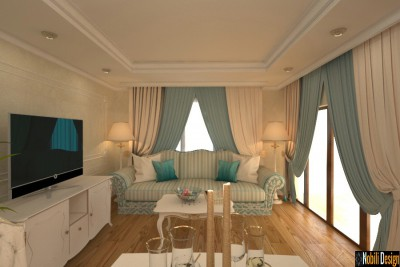 Interior design for classic house in Istanbul