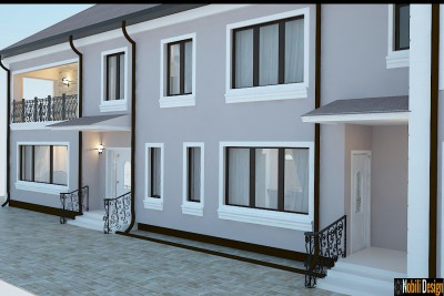 Exterior design classic house in Istanbul