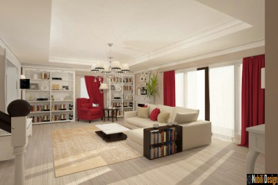 Interior style classic house design in Istanbul