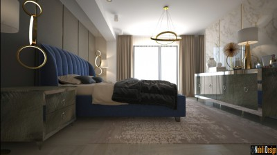 Modern apartment interior design in Istanbul