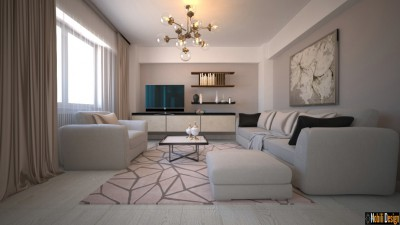 Contemporary apartment interior design Istanbul