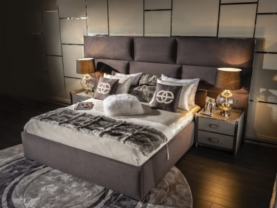 Luxury Upholstery Bed Carina Collection