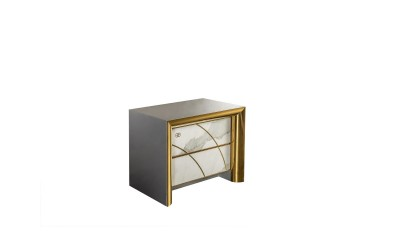 Bedside table with 2 drawers modern bedrooms
