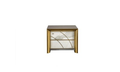 Bedside table with 2 drawers modern bedrooms Viola