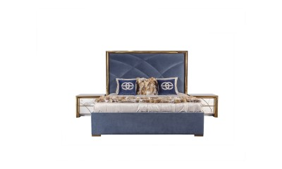 Upholstered bed modern luxury bedroom Viola