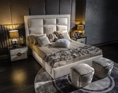 Luxury bed Noir
