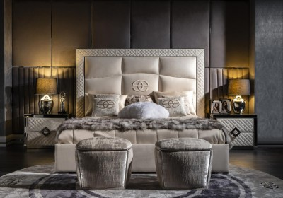 Luxury bedroom furniture Noir