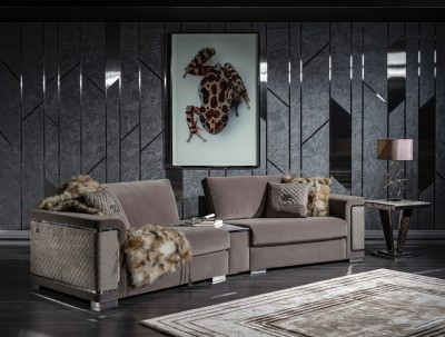 Modern set sofa living Velar