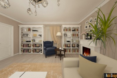 interior design new classic house istanbul